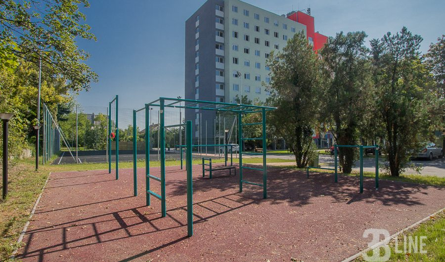 ELTE – sportpálya, fitness park