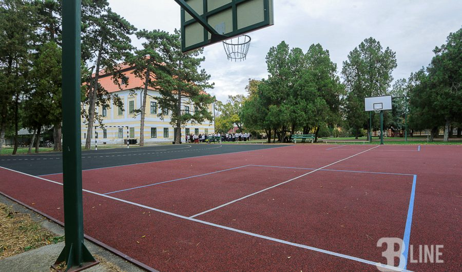 Rábapaty – sportpálya, fitness park