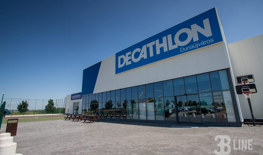 Decathlon – köztéri gumiburkolat